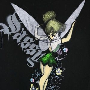 Disney Tinkerbell Sassy Graphic Tee XL